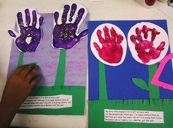 CAP Flyer - Handprint Craft