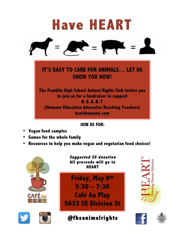 Animal Rights Fundraiser