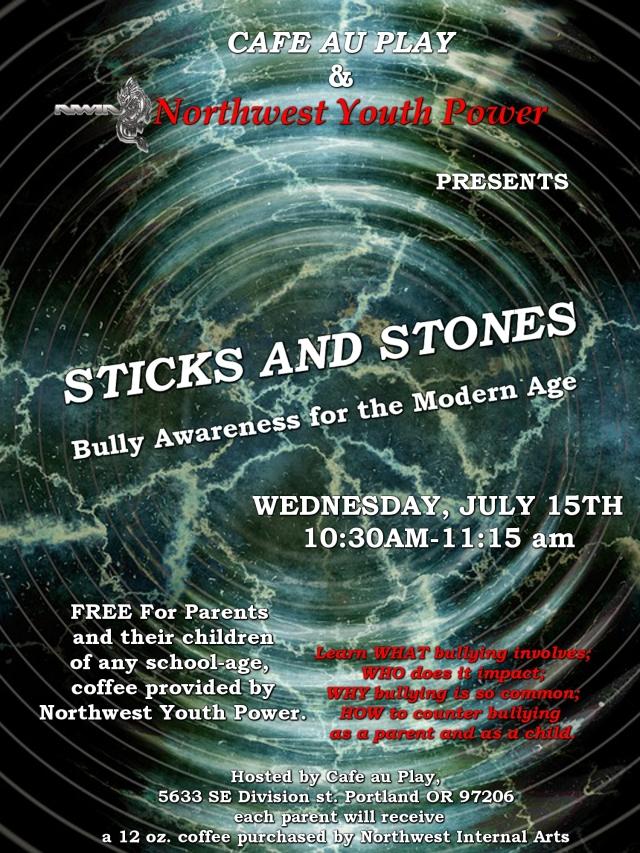 NW Internal Arts Bully Seminar Flyer